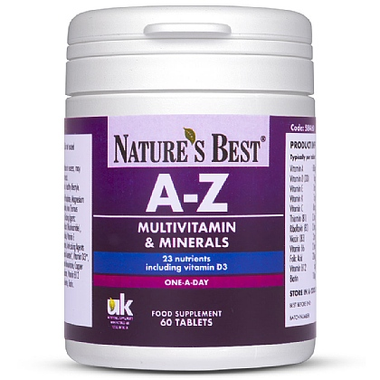 A-Z Multi for Teens and Adults, With 23 Key Nutrients