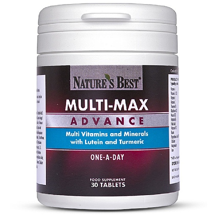 Multi-Max<sup>®</sup> Advance, Over 50's Multivitamin