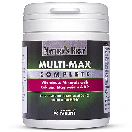 Multi-Max<sup>®</sup> Complete, High Strength Over 50s Multivitamin