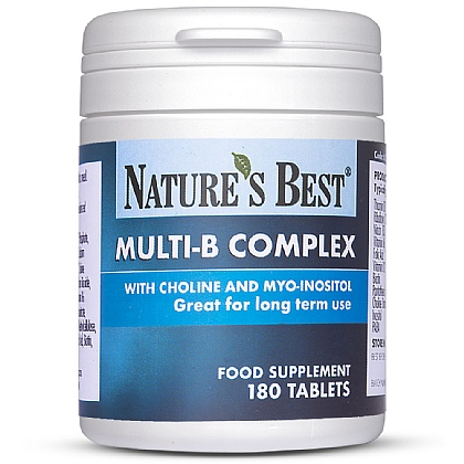 Multi-B Complex With Choline & Inositol, A Powerful Vitamin B-Complex