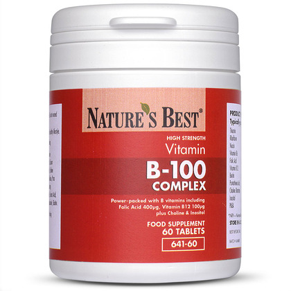 Vitamin B-100 Complex, High Strength B Vitamin Formula