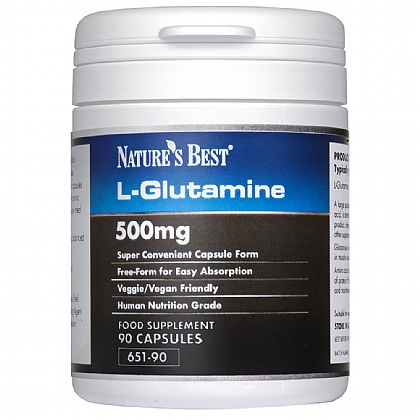 Glutamine 500mg, For Nutritional Support