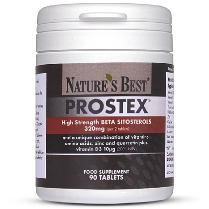 Prostex<sup>®</sup>, Highest Strength Beta Sitosterols