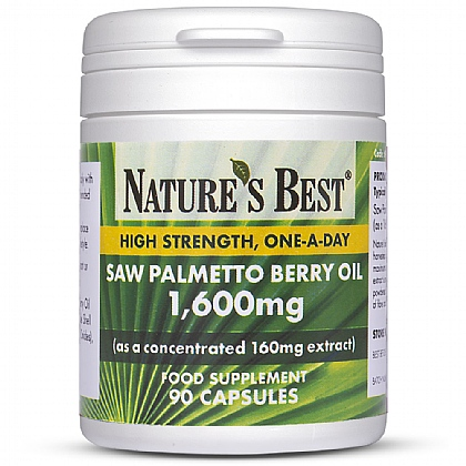 High Strength Saw Palmetto 1440mg