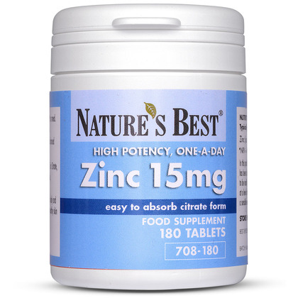 Zinc 15mg As Citrate