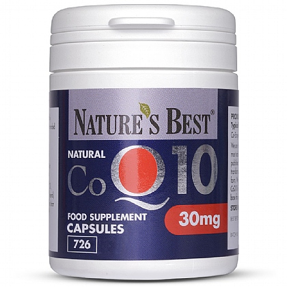 Coenzyme Q10  30mg, Natural Source
