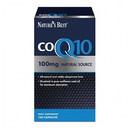 Co Q10 100mg, Natural Source