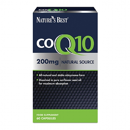 CoQ10  200mg, One of the UK's strongest