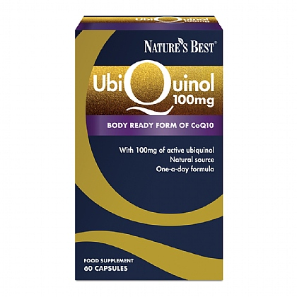 Ubiquinol 100mg, Highly Absorbable Form Of CoQ10