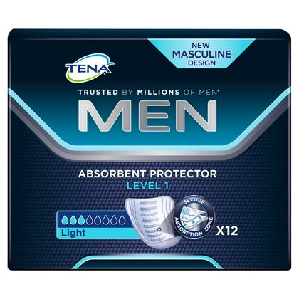 TENA Men Level 1 Pads - 12
