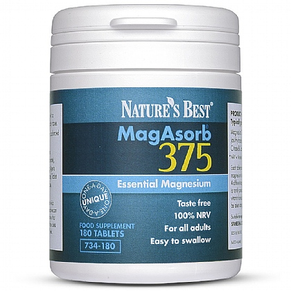 MagAsorb<sup>®</sup> 375 - One-A-Day Magnesium