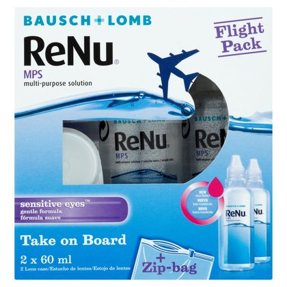 ReNu Multi-Purpose Solution Special Flight Pack