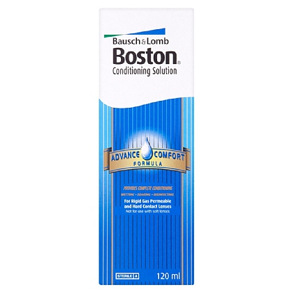 Bausch & Lomb Boston Advance Comfort Formula Conditioning Solution - 120ml
