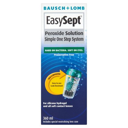 Bausch & Lomb Easysept Peroxide Solution - 360ml