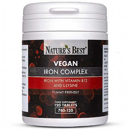 Vegan Iron Complex Tablets