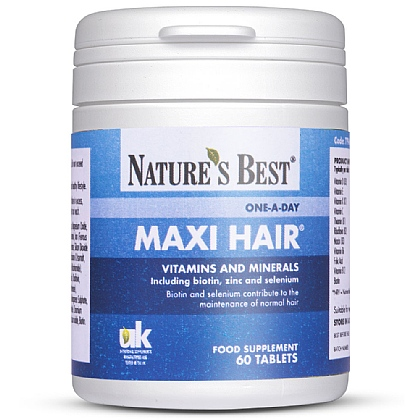 Maxi-Hair<sup>®</sup> With B Vitamins, Selenium & Biotin
