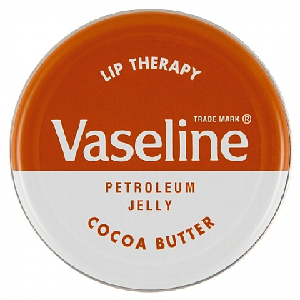 Vaseline Lip Therapy With Cocoa Butter Tin - 20g