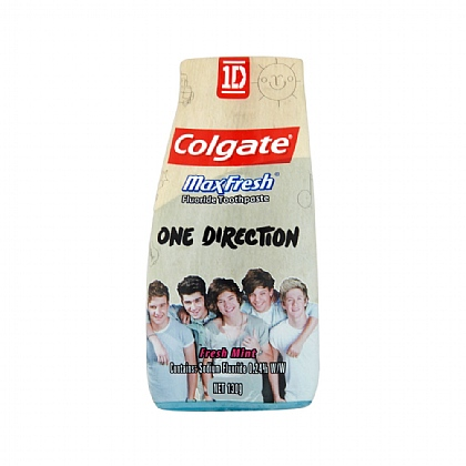 Colgate One Direction Max Fresh Toothpaste